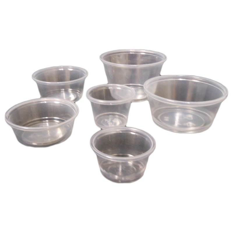 CUPS PORTION & LIDS